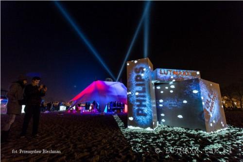 II Królewski Festiwal Światła - Wilanów 2014.12