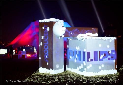II Królewski Festiwal Światła - Wilanów 2014.6