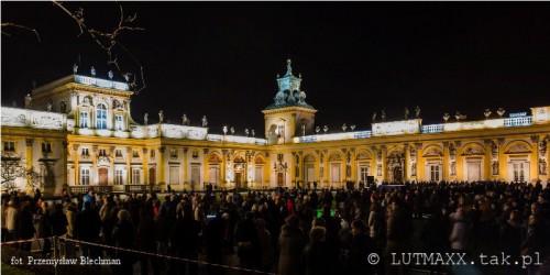 II Królewski Festiwal Światła - Wilanów 2014.7