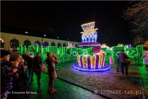 II Królewski Festiwal Światła - Wilanów 2014.9