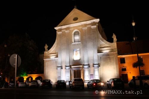 Lublin Plac Litewski iluminacja 1