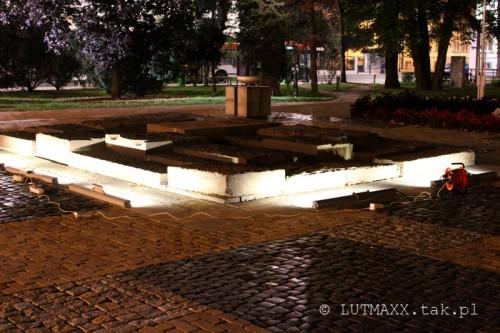 Lublin Plac Litewski iluminacja 11