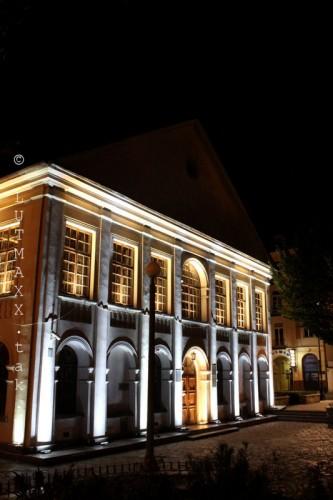 Lublin Plac Litewski iluminacja 15