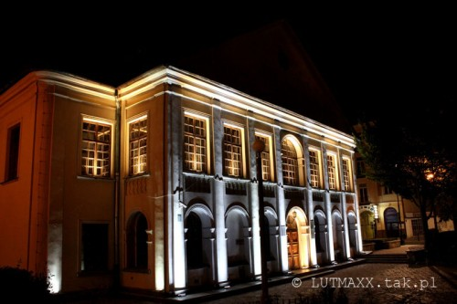 Lublin Plac Litewski iluminacja 16