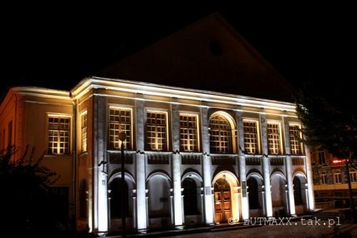 Lublin Plac Litewski iluminacja 17