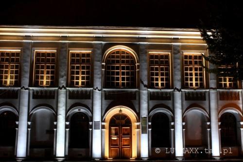 Lublin Plac Litewski iluminacja 21