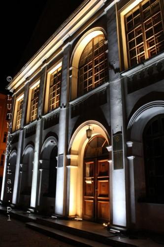 Lublin Plac Litewski iluminacja 24