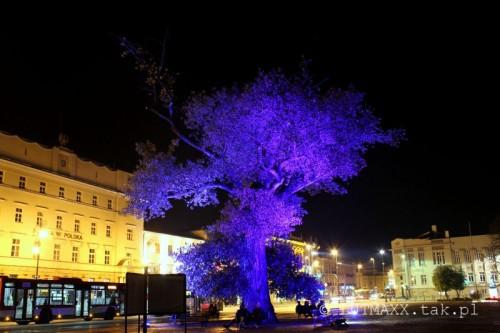Lublin Plac Litewski iluminacja 5
